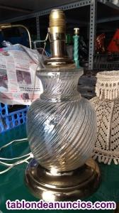 Lámpara sobremesa de cristal