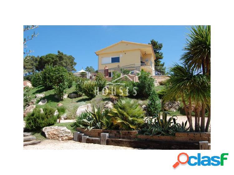 Casa con parcela y vistas al mar, Serra Brava, Lloret de mar