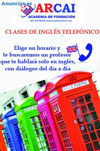 Clases De IngléS TelefóNico