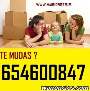 (DESDE 45€) PORTES ECONOMICOS EN RIVAS VACIAMADRID -