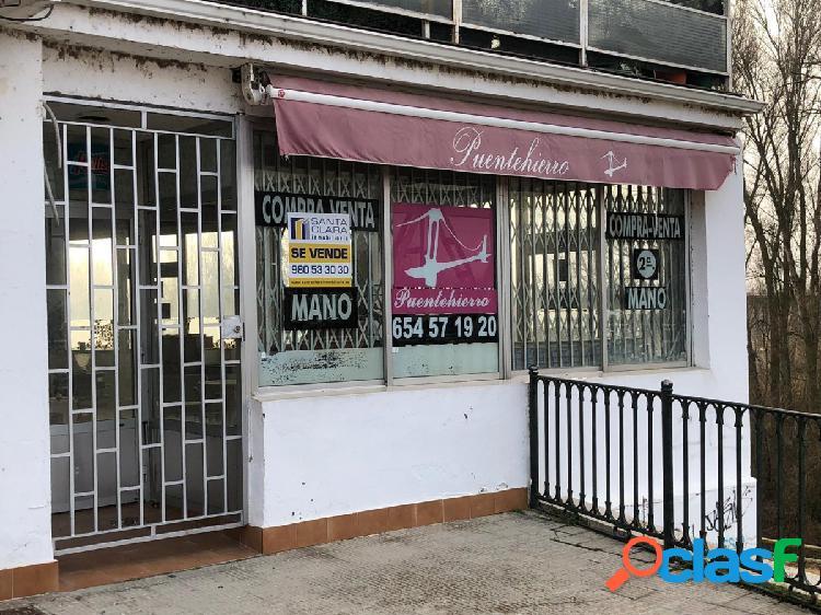 LOCAL COMERCIAL CON VISTAS AL RÍO PROCEDENTE DE BANCO