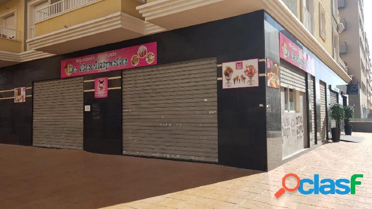 Local en zona de Plaza de Castilla
