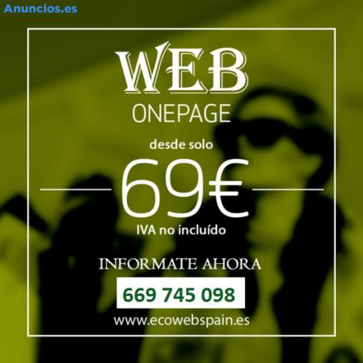 WEB MUY BARATA POR SOLO 69 EUROS