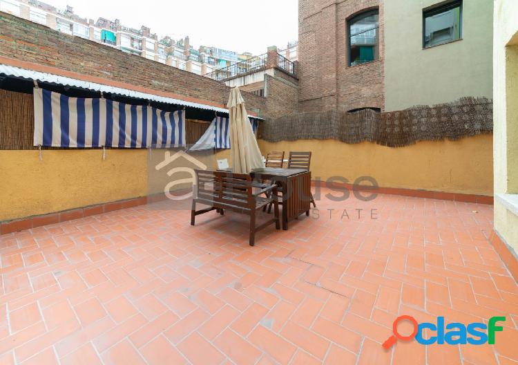 piso en venta en calle Sepulveda con gran terraza