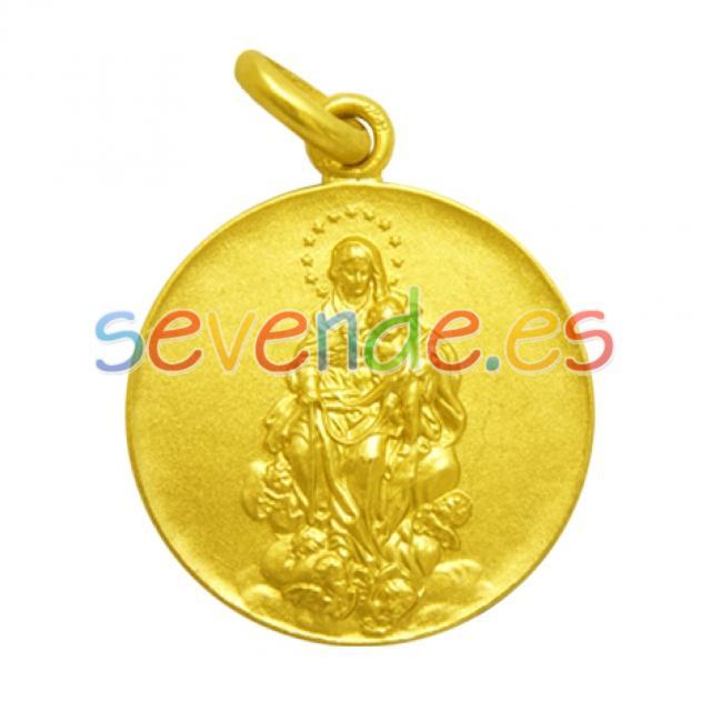 Medalla virgen de la consolación