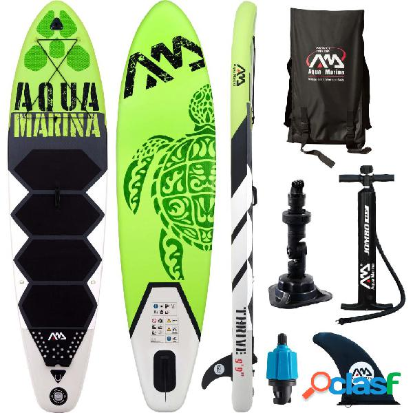 Aqua Marina Tabla de SUP Thrive verde 300x75x15 cm
