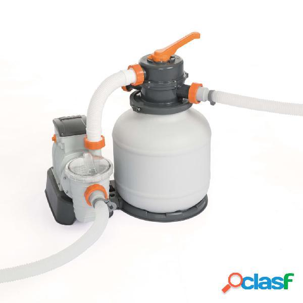 Bestway Bomba de filtro de arena Flowclear 3785 L/h 58495
