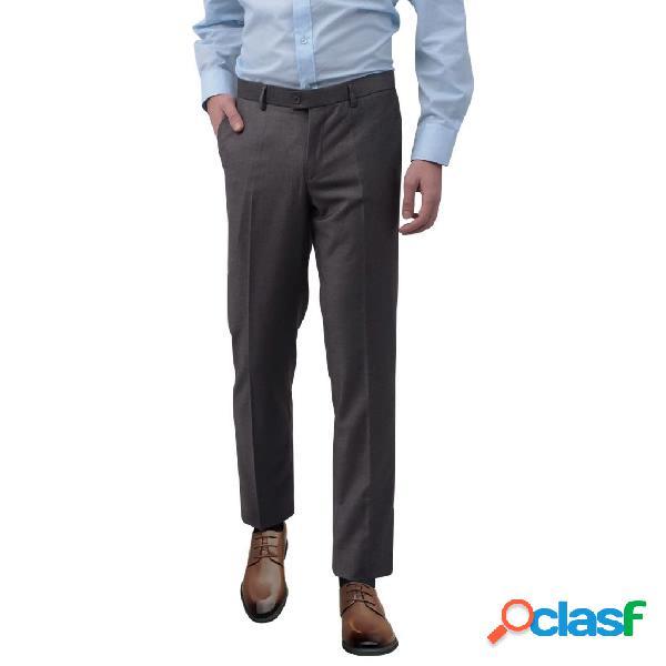 Pantalones de vestir para hombre talla 48 gris