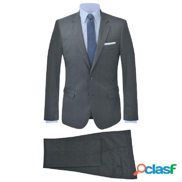 Traje de chaqueta de hombre 2 piezas antracita talla 48