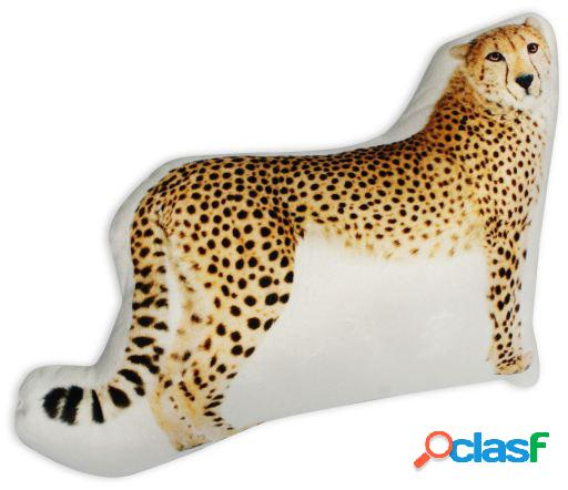Wellindal Cojín Con Forma 3D Leopardo