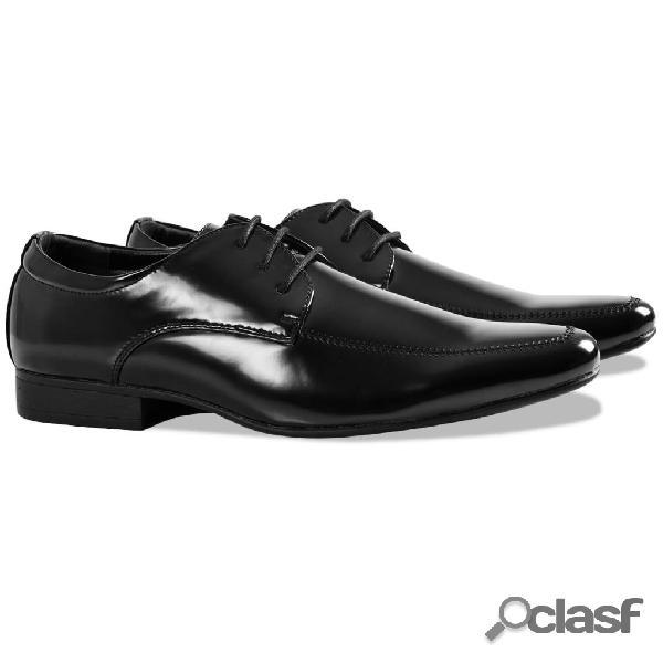 Zapatos de vestir esmoquin negros talla 42