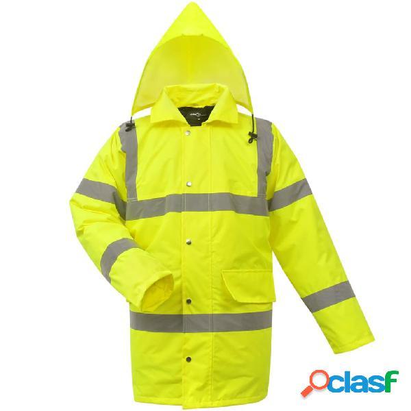 chaqueta alta visibilidad caballero amarilla talla M