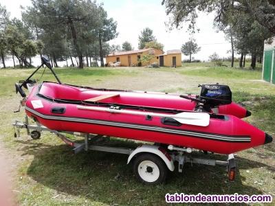 Barca neumática tipo zodiac 3,80