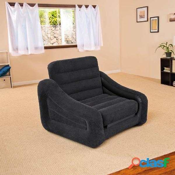 Intex Cama/ silla hinchable para 1 persona 68565NP, 107 x