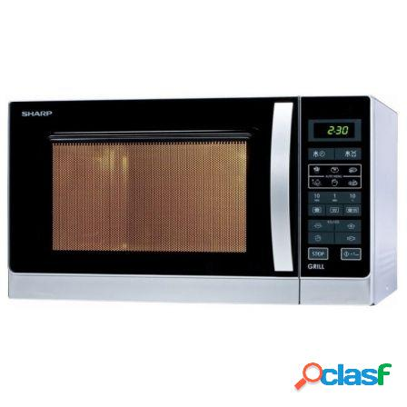 Microondas con grill sharp r742inw - 900w (1000w grill) - 25