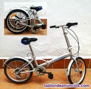 Vendo bicicleta plegable romester travel