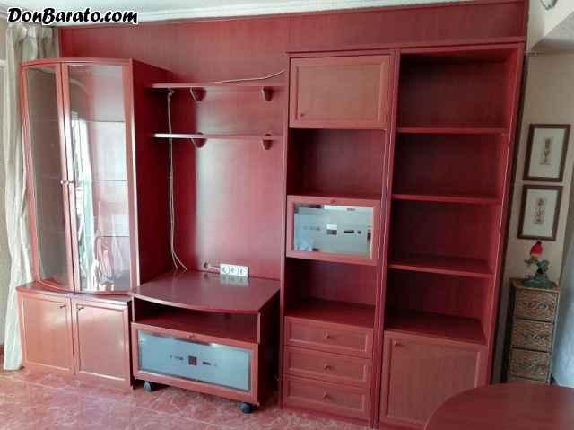 Salon de madera caoba