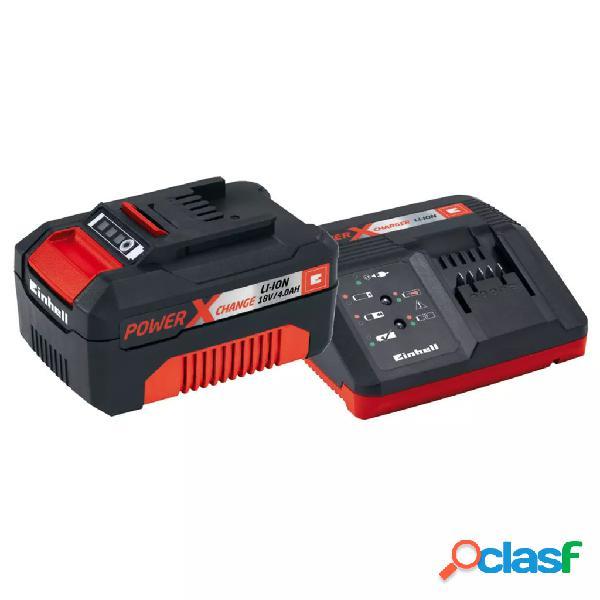 Einhell Kit de arranque de batería Power X-Change 18 V 4 Ah