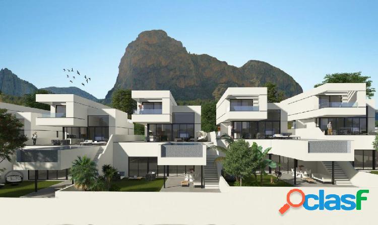 Villa de Obra nueva de lujo a la venta en Polop