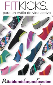 Zapatillas fitkicks liquidación de stock 125 unidades