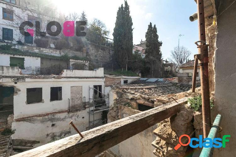 Edificio para rehabilitar en el Albaycín