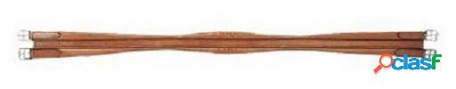 Galequus Cincha Cuero Moldeada Marrón 120 cm