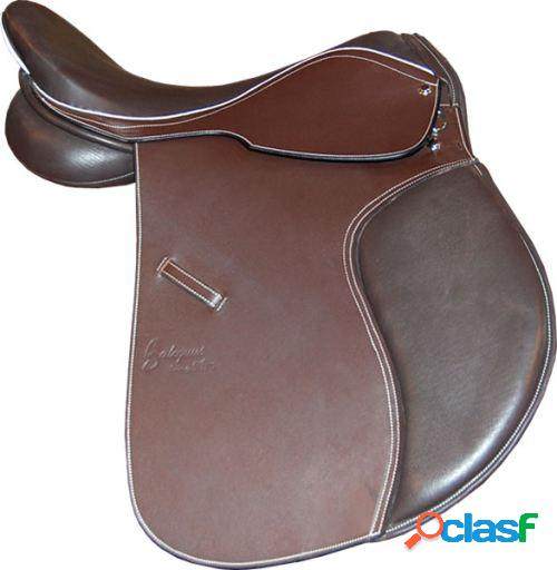 "Galequus Silla Inglesa Cc02 18"" Marrón para caballos"