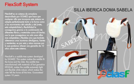 Gómez Silla Iberica Doma Sabela Completa 35 Negro