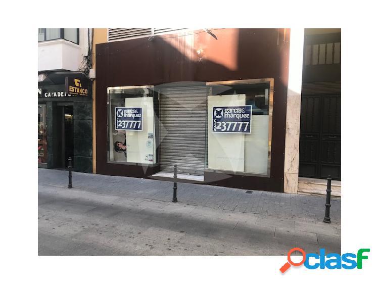 LOCAL EN ALQUILER EN LA ZONA COMERCIAL DE LA CIUDAD.