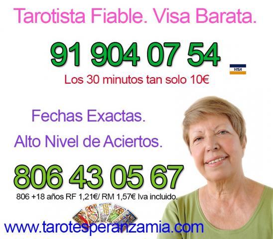 Tarot y Videncia Natural Visa 30 minutos 10€
