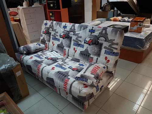 Sofa cama con arcón nuevo
