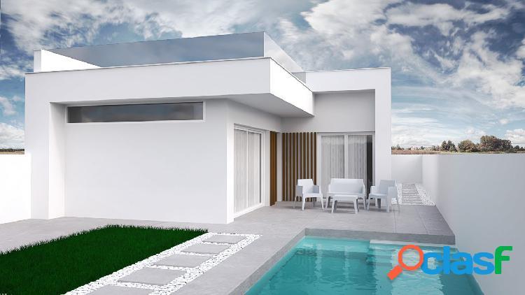 Impresionante villa de obra nueva en Santiago de la Ribera