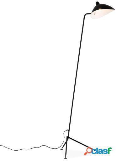 Lámpara aplique Jänis 1 brazo E14 160cm blanco