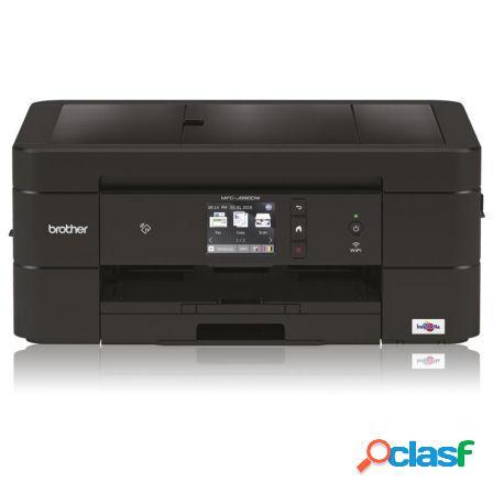 Multifuncion brother wifi con fax mfc-j890dw - 12/10 ppm -