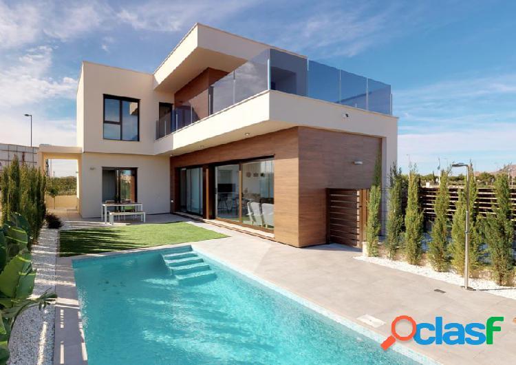 Villa de obra nueva en Roda Golf, San Javier