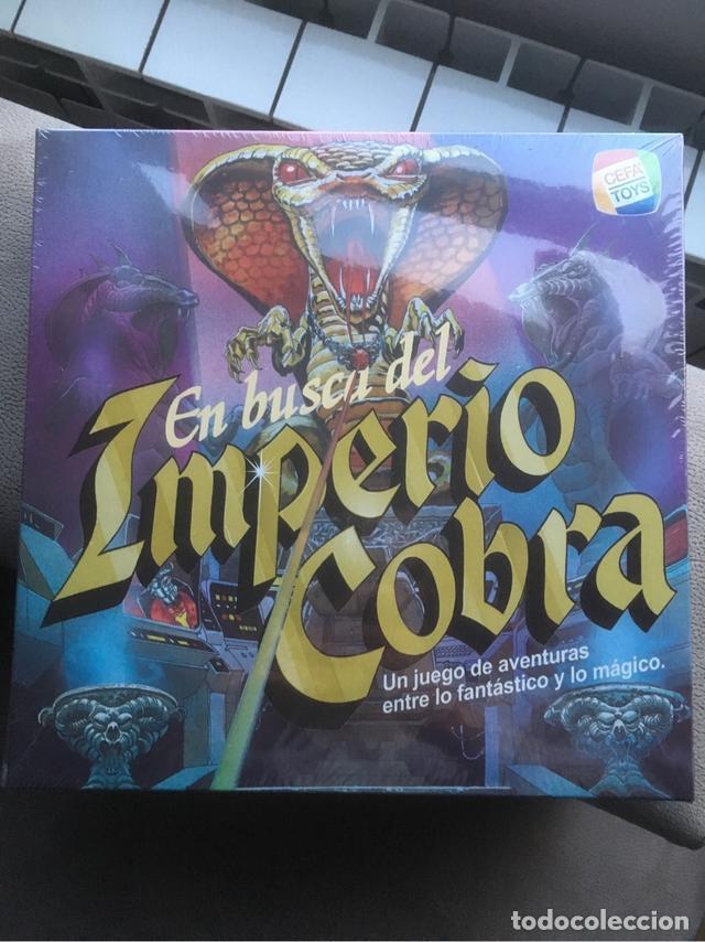EN BUSCA DEL IMPERIO COBRA CEFA JUEGO DE MESA NUEVO