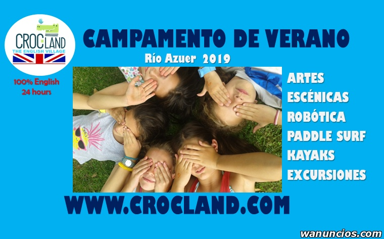 CAMPAMENTO DE VERANO EN INGLES CON ROBOTICA - Toledo