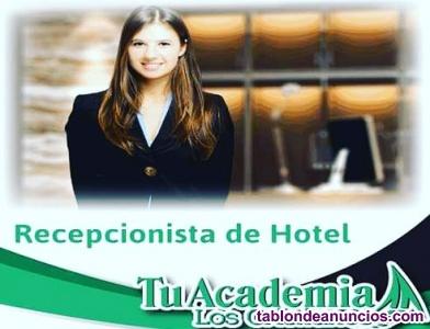 Docente para recepcionista de hotel
