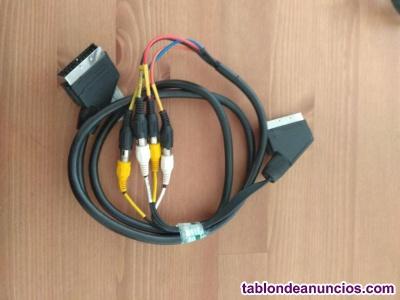 Euroconector a 4 coaxiales