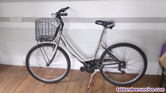 Se vende bicicleta de paseo para adulto.