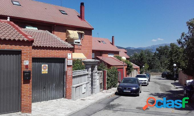 Chalet adosado a la venta en Collado Villalba (Madrid)