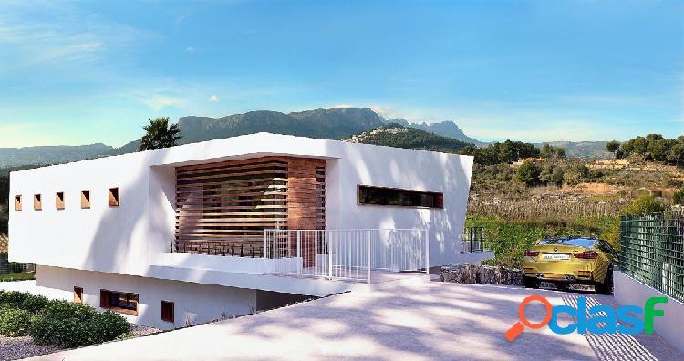 Exclusiva villa de diseño moderno en Calpe