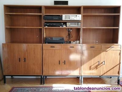 Muebles modulares de los 60