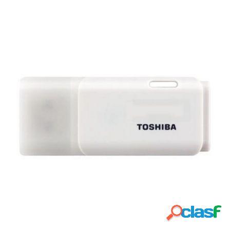 Pendrive toshiba hayabusa 16gb - usb 2.0 - color blanco