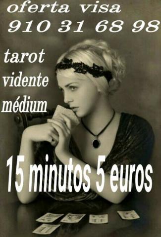 Tarot y videncia 15 minutos 5 euros