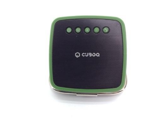 Altavoz Portatil Bluetooth Cuboq Solar