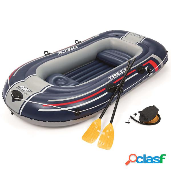Bestway Barca inflable Hydro-Force Treck X2 Set 255x127 cm