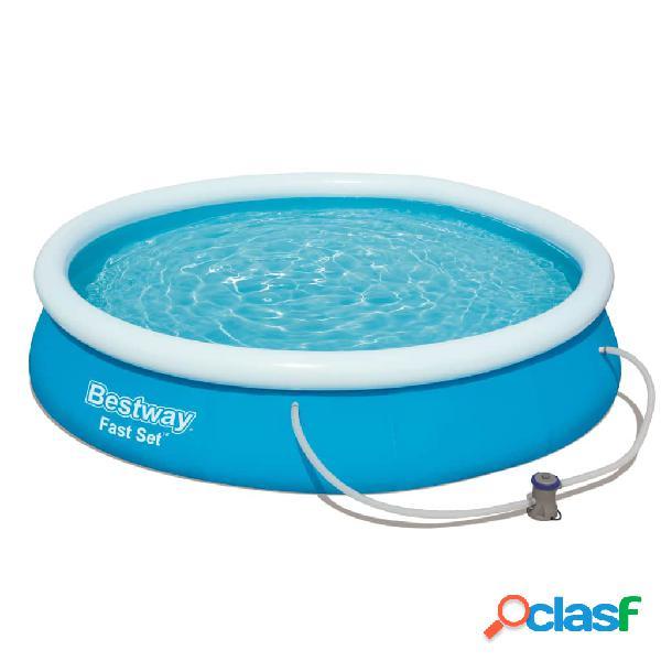 Bestway Conjunto de piscina Fast Set 366x76 cm 57274