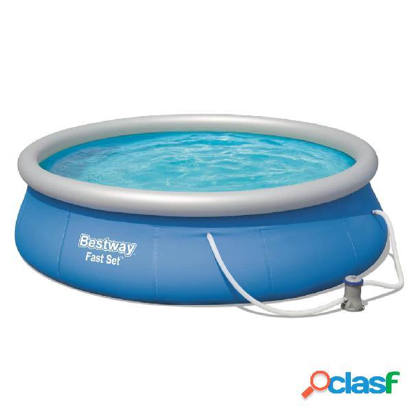 Bestway Conjunto de piscina Fast Set 396x84 cm 57321