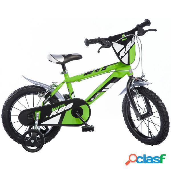 Dino Bikes Bicicleta para niños MTB R88 verde 40cm